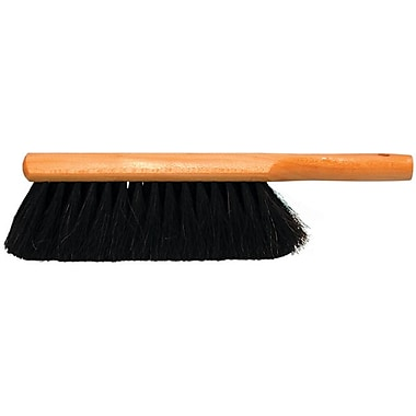 Magnolia Clear Lacquered Hardwood Handle Black Horsehair Bristle Counter Brush