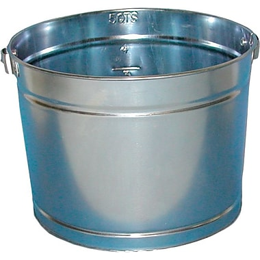 Magnolia Hot Dipped Galvanized Electroplated Metal Pail, 5 qt.
