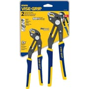 VISE-GRIP® 2 pcs Nickel Chromium Steel Groove Lock Pliers Set, 8 in, 10 in (L)