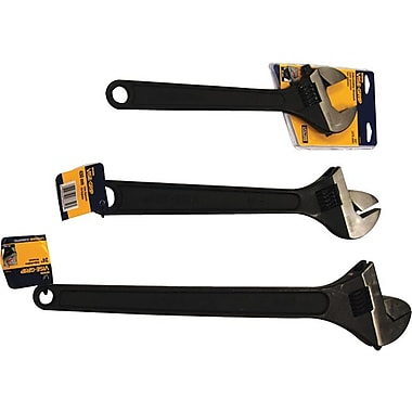 VISE-GRIP® Adjustable Wrench Set, 15 in, 18 in, 24 in (L), 3 pcs