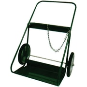 Saf-T-Cart™ Series 400 Cylinder Cart, 24 in Capacity, 46 in (H) x 31 in (W)