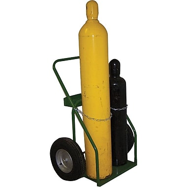 Saf-T-Cart™ Series 800 Standard Cylinder Cart, 23 in Capacity, 44 in (H) x 35 in (W)