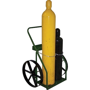 Saf-T-Cart™ Series 800 Cylinder Cart, 24 in Capacity, 44 in (H) x 33 in (W)