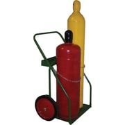 Saf-T-Cart™ Series 800 Standard Cylinder Cart, 23 in Capacity, 44 in (H) x 30 in (W)