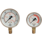 Western Enterprises Regulator Gauge, 4000 psi, 2 1/2 in Dial, LM