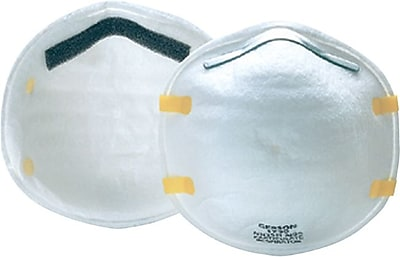 Gerson N95 Grade Cup Style Molded Particulate Respirator, 20/Box 848640