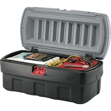 ActionPacker® Black Cargo Storage Box, 48 gal, 43.8 in (L) x 20 in (W) x 17 in (H)