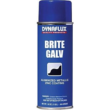 Dynaflux Brite Galv™ Bright Zinc Ultra Brand Galvanizing Compound, 16 oz Aerosol Can