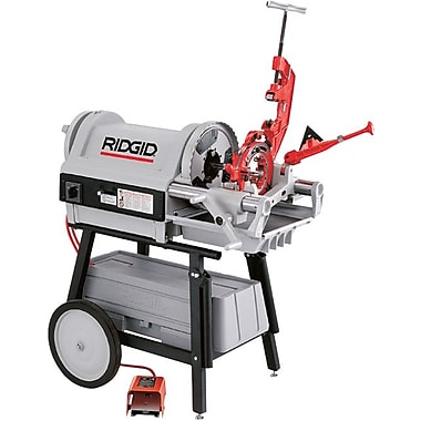 Ridgid® 1224 Power Drive Threading Machine, 120 V At 60 Hz, 1 1/2 hp, 1/2-4 NPT