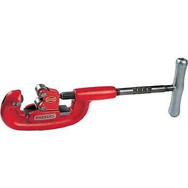 Ridgid® Screw Feed Heavy Duty Pipe Cutter, 1/8 - 2 in (OD)