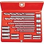 Ridgid Alloy Steel Screw Extractor Set, 20 Pcs