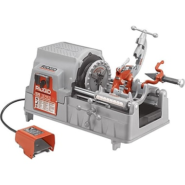 Ridgid® 535 Power Threading Machine, 115 V At 50/60 Hz, 1/2 hp, 1/8-2 NPT