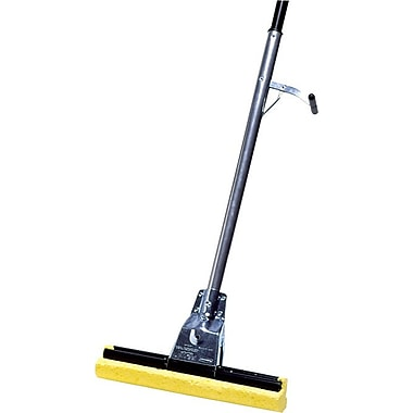 Rubbermaid® Commercial Roller Sponge Mop with Steel Handle