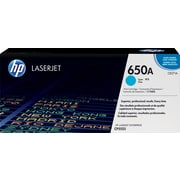 HP 650A Cyan Toner Cartridge (CE271A)