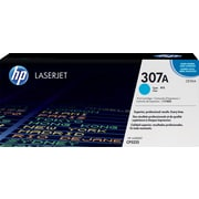 HP 307A Cyan Toner Cartridge (CE741A)