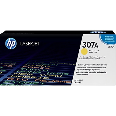HP 307A Yellow Toner Cartridge (CE742A)