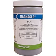 Magnaglo® Brown Wet Method Fluorescent Magnetic Powder, 1 lb Plastic Jar