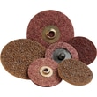Scotch-Brite™ Roloc™ Brown AO Surface Conditioning Abrasive Disc, 4 in (Dia), Coarse, 12000 rpm