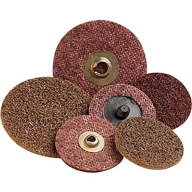 Scotch-Brite™ Roloc™ Maroon AO Surface Conditioning Abrasive Disc, 4 in (Dia), Medium, 12000 rpm