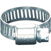 Micro-Gear® Stainless Steel 62P Small Diameter Worm Gear Drive Hose Clamp, 1/2 - 1 1/2 in Capacity