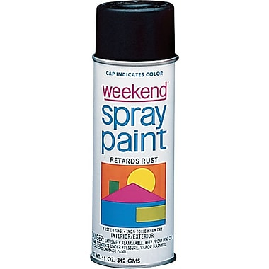 Industrial Weekend® 16 oz Aerosol Can Spray Primer, Acrylic, Gray