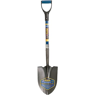 Kodiak® Tempered Steel J-250 Round Shovel, 8 3/4 in (W), 11 3/4 in (L)