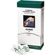 Allegro® Pre-Moistened Cleaning Wipe, 5 in (L) x 8 in (W), For Cleaning Eyewear or Computer Screens