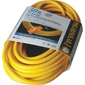Polar/Solar® T*Prene® TPE Jacket SJEOW Insulated Outdoor Extension Cord, 12/3 AWG, 100 ft (L)
