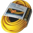 Polar/Solar® T*Prene® TPE Jacket SJEOW Insulated Outdoor Extension Cord, 12/3 AWG, 25 ft (L)