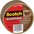 Scotch® Commercial Performance Packaging Tape, Tan, 1.88in. x 54.6 yds, Each