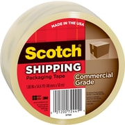"Scotch Commercial Grade Shipping Packing Tape, 1.88"" x 54.6 yds, Clear, 1/Pack"