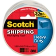 "Scotch Heavy Duty Shipping Packaging Tape, 1.88"" x 54.6 yds, Clear, 1/Pack"