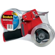 Scotch® Heavy-Duty Pistol-Grip Packaging Tape Dispenser, 1 Dispenser/2 Rolls