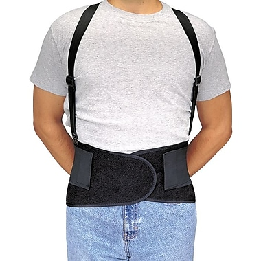 Allegro® Black Economy Back Support Belt, X Large, 47 - 56 in (L)