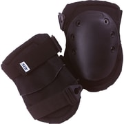 AltaFLEX® Superflex™ AltaLok™ Black Nylon Cover Rubber Cap Dual Velcro Strap With Buckle Knee Cap
