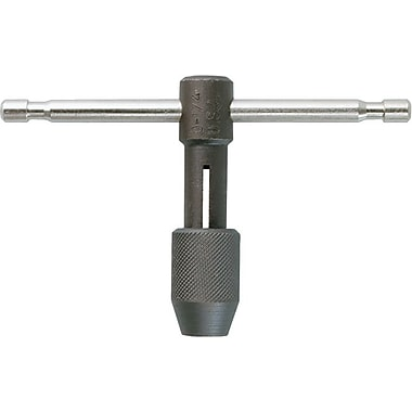 HANSON® Sliding T Handle Tap Wrench, 1/4 - 1/2 in Tap