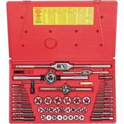 HANSON® 53 pcs Metric Plug Tap And Hexagonal Die Set