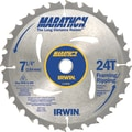 Marathon® Carbide Cutting Edge Portable Corded Circular Saw Blade, 7 1/4 in (Dia), 5/8 in Arbor