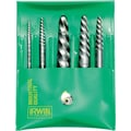 HANSON® High Carbon Steel 524 Spiral Flute Screw Extractor Set, 9 pcs