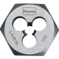 HANSON® High Carbon Steel Hexagon Machine Screw Die, 1/2 in