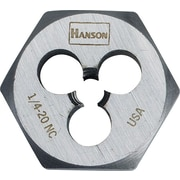 HANSON® High Carbon Steel Hexagon Machine Screw Dies