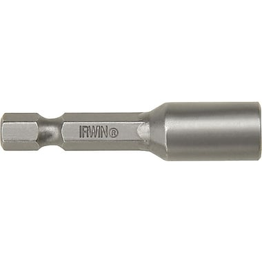 Irwin® Magnetic Nut Setter, 2 9/16 in (OAL), 5/16 in Hex Drive