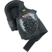 CLC® Black Polyurethane Foam Gel Pad ABS Cap Swivel Professional Knee Pad