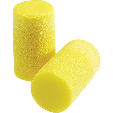 E-A-R Classic® Yellow Foam Corded Earplug, 33 dB, 200 Pairs/Box