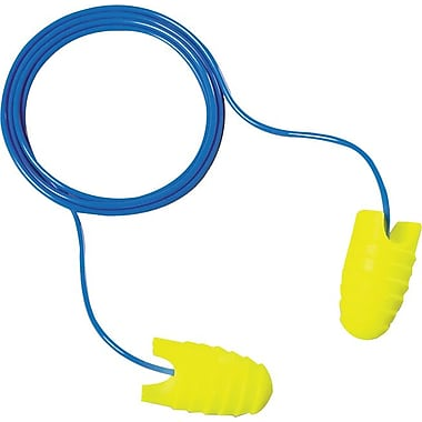 EARsoft® Grippers™ Foam Corded Grip Ring Earplug, 31 dB, 200 Pairs/Box