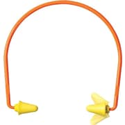 E-A-R® flex 28™ EARform™ Yellow Foam Corded Semi Aural Push-in Earplug, 28 dB, 10 Pairs/Box