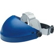AO Tuffmaster® Blue Thermoplastic Crown Economy Adjustable Face Shield Headgear