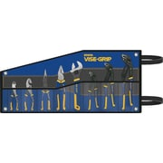 VISE-GRIP® 8 pcs Groove Lock Pliers Set, Kitbag Included