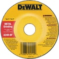 DeWalt® AO Type 27 Depressed Center Grinding Wheel, A24R, 4 1/2 in (Dia), 5/8-11