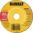 DeWalt® AO Type 27 Depressed Center Grinding Wheel, A24R, 4 1/2 in (Dia), 7/8 in